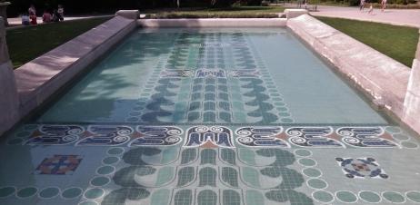 Darmstadt Swimming Pool nouveau jugendstil site mathildenhöhe in darmstadt germany