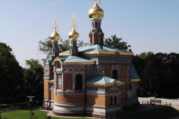 Russian Orthodox Chapel (built before the Artists' Colony)