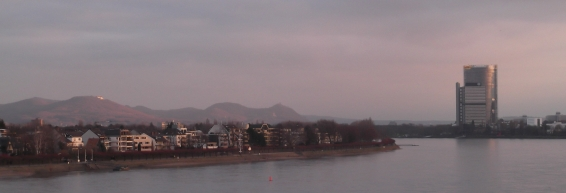 The River Rhine and the Seven Mountains