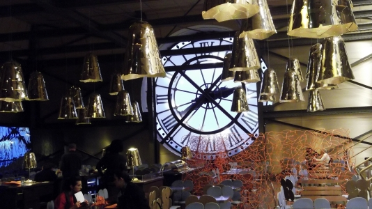 on the 5th floor of the Musée d'Orsay