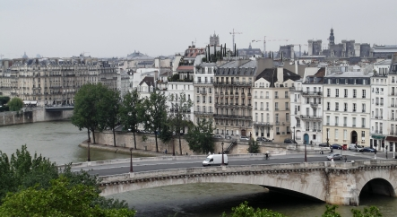 The banks of the Seine