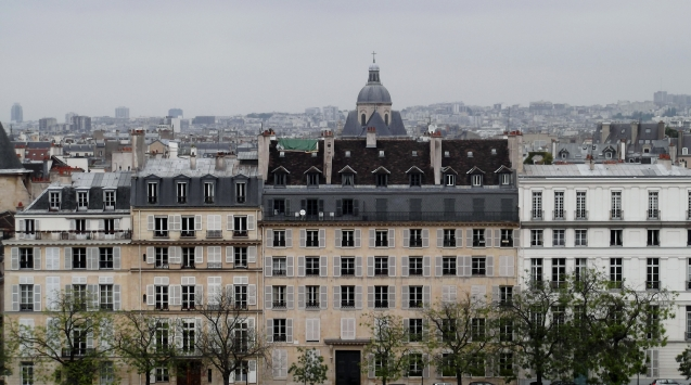 Houses on the Seine