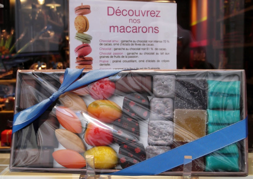 Les Macarons, a dessert
