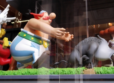 Obelix, the famous French Anti-Hero