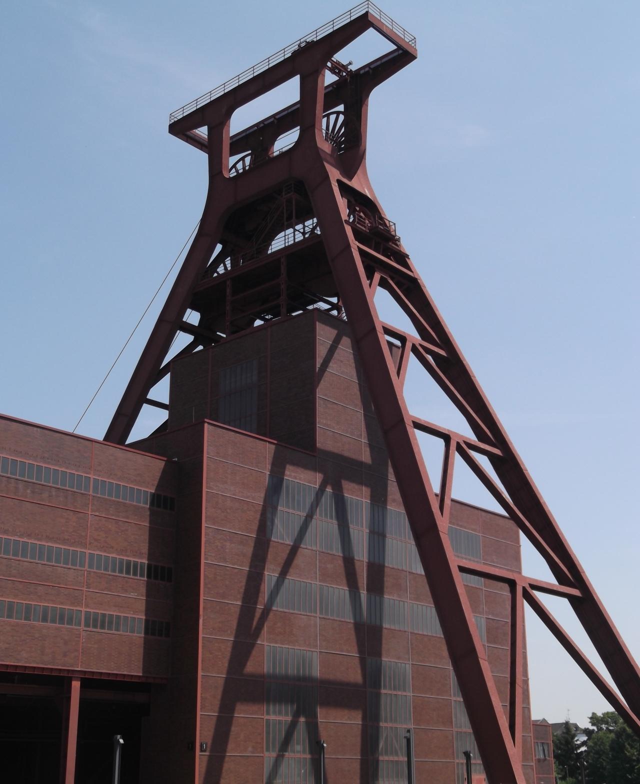 World Heritage Site Zollverein in Essen,Germany.