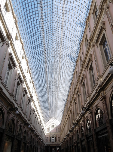 Galeries St. Hubert, Glass Roof