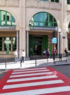 University of Brussels, Rue d'Assault
