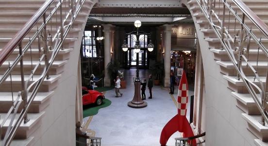 Inside Centre Belge de la Bande Dessinée