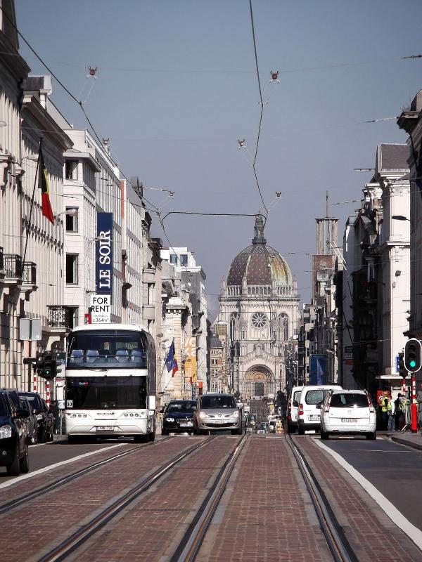 Rue Royale, next to the Parc de Bruxelles