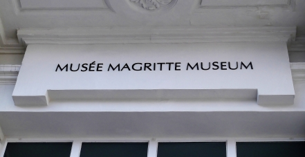 Magritte Museum, my eyes were shining with joy