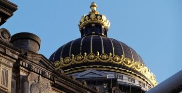 Palais de Justice, gilded cupola