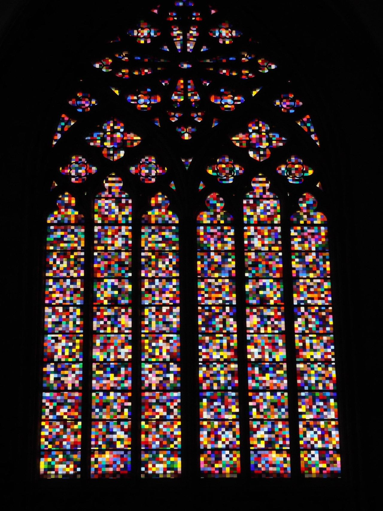 Gerhard Richter Window, Cologne Cathedral