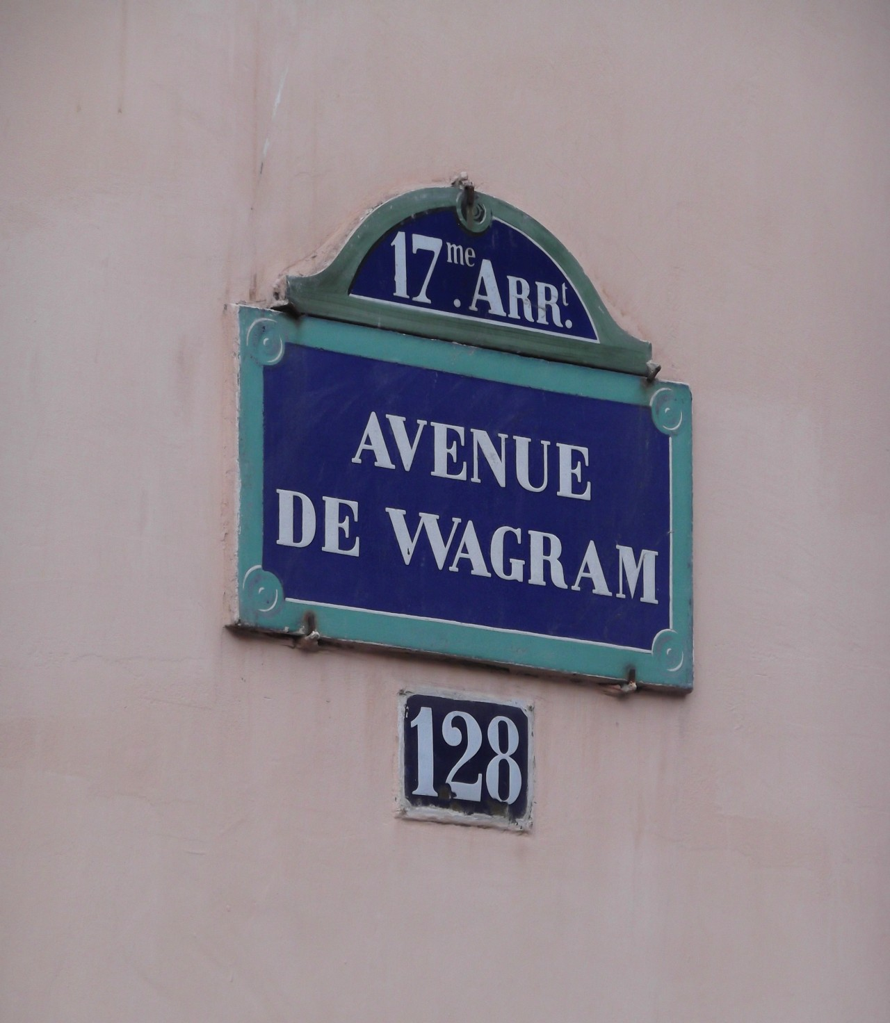 Letters: Paris Street Signs.