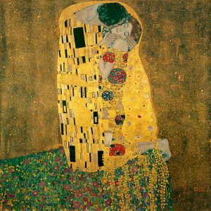The Kiss, 1907/08 (Wikipedia)