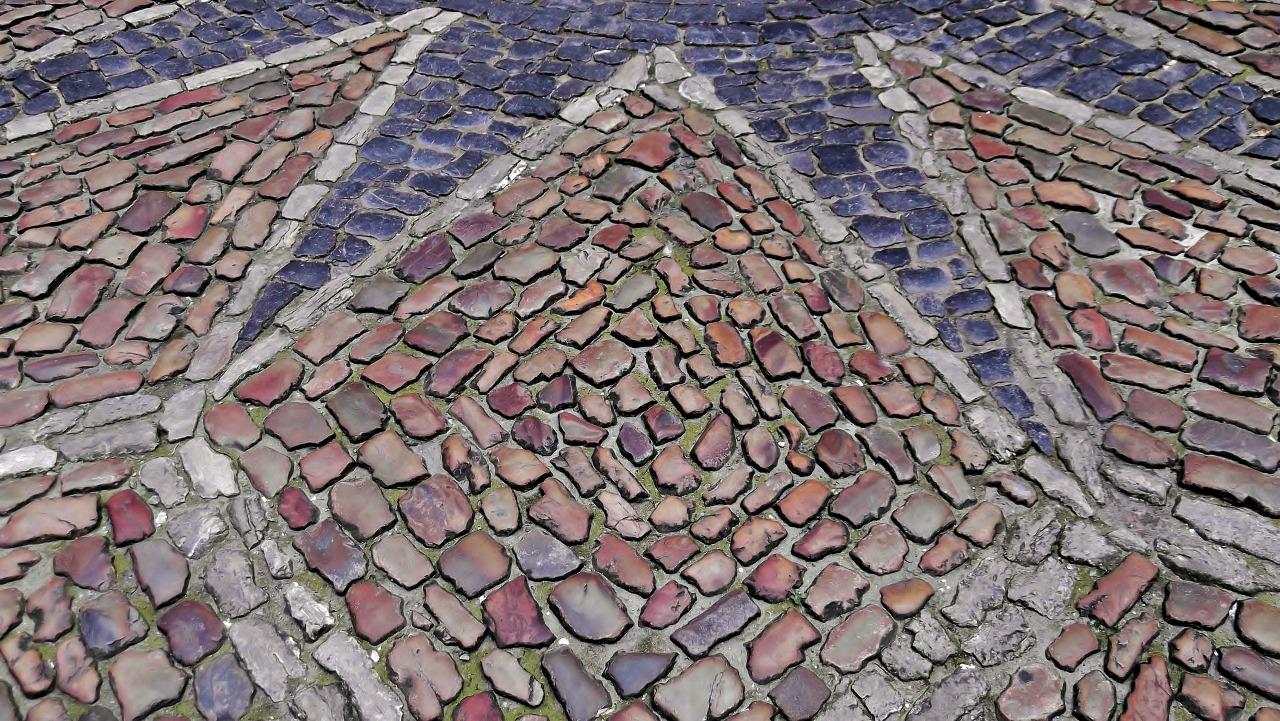 Cobblestone Art.