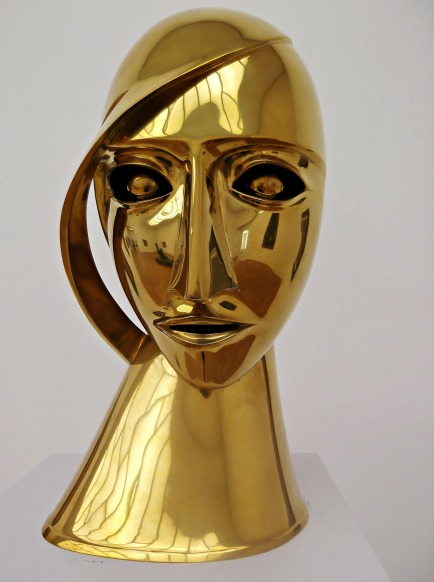 Rudolf Belling, Brass Head (Portrait of Toni Freeden)