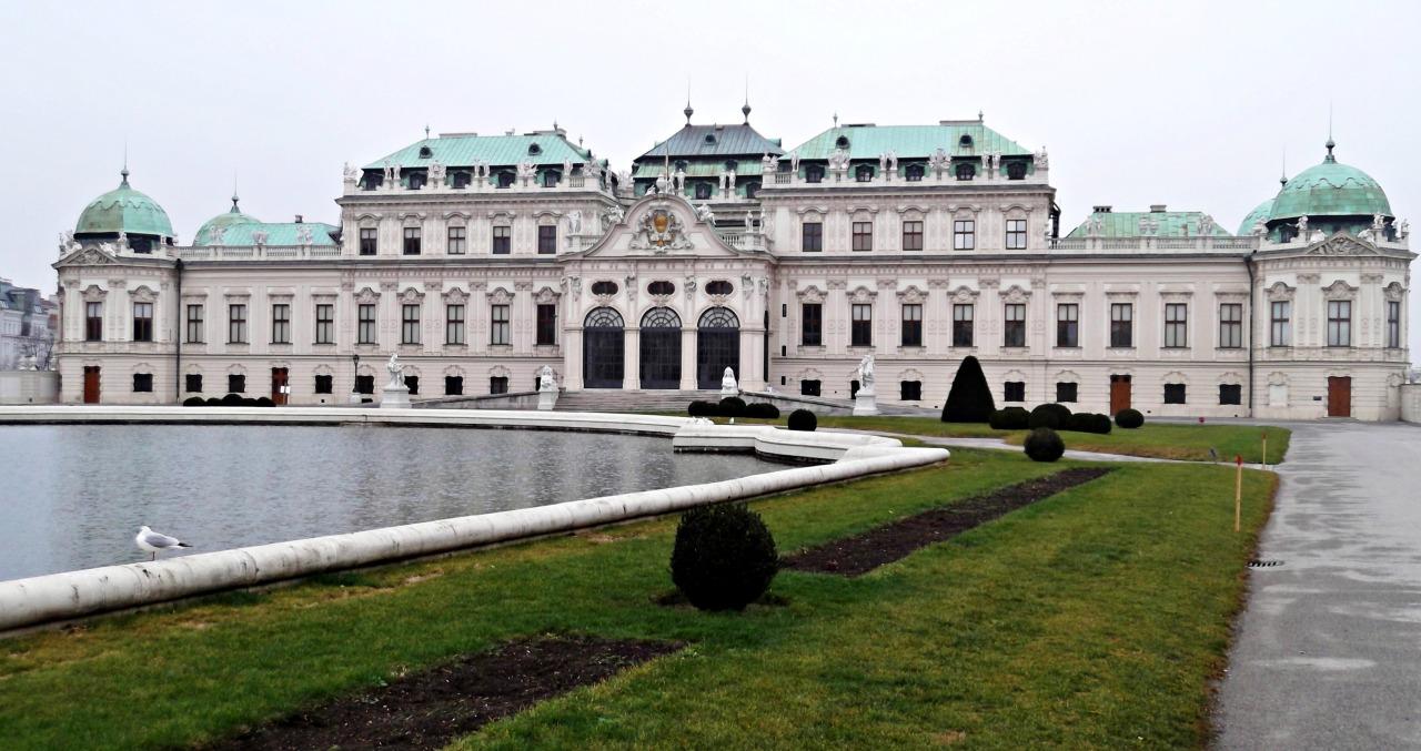 Belvedere Palace, Vienna,Austria.