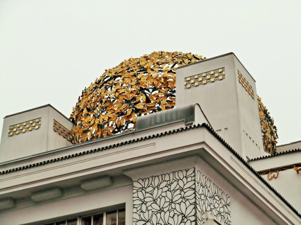 Vienna Secession Building, Roof