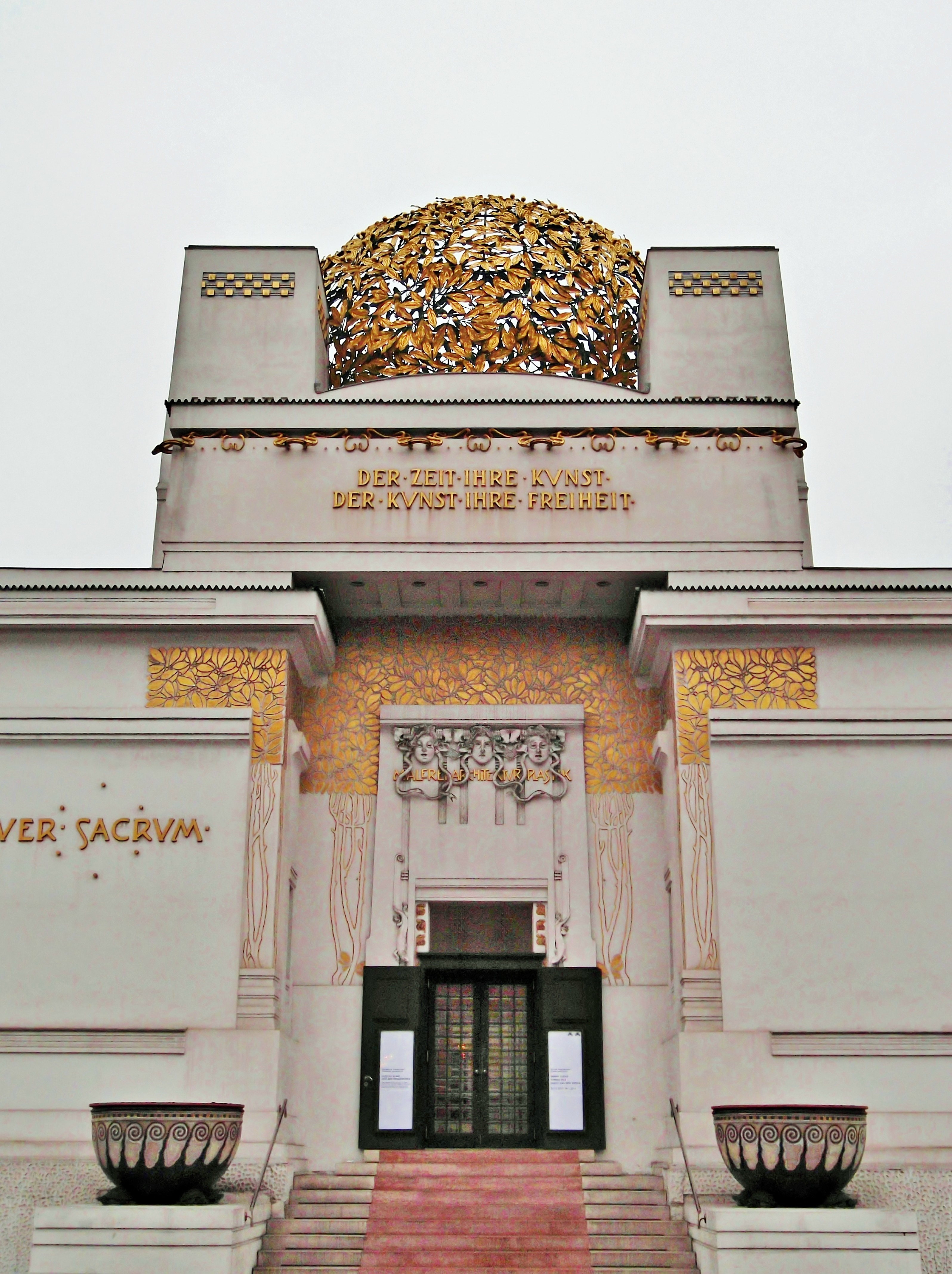 The Art Nouveau Movement S Exhibition Hall In Vienna