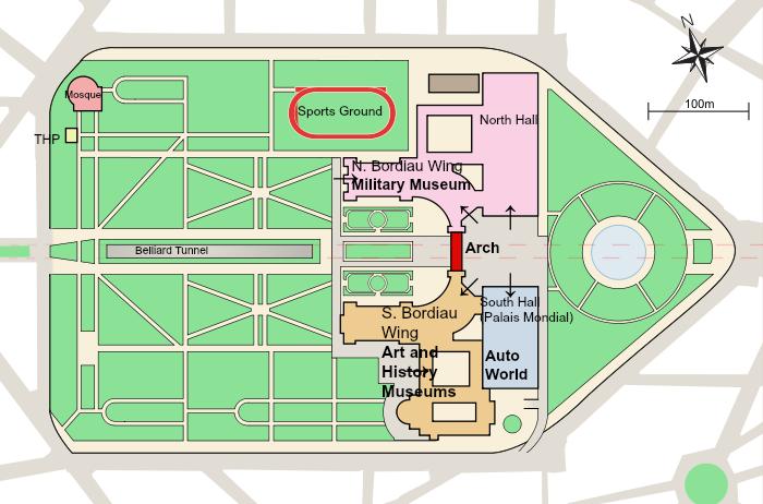 Map Jubilee Park,  Credit: S. Solberg J.