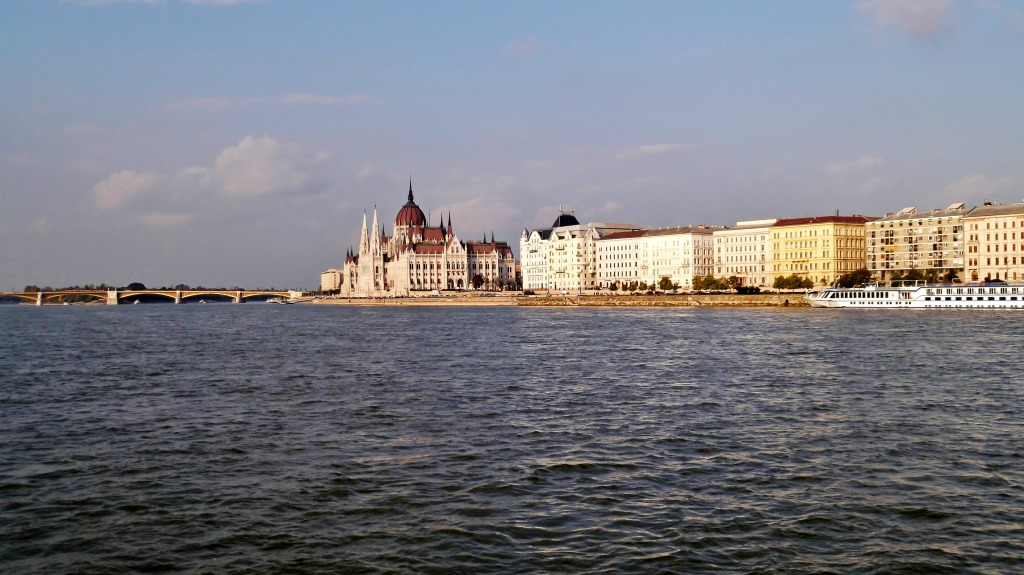 The Danube and the Parliament.