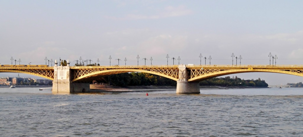 My favorite Bridge in Budapest: Margit Bridge.