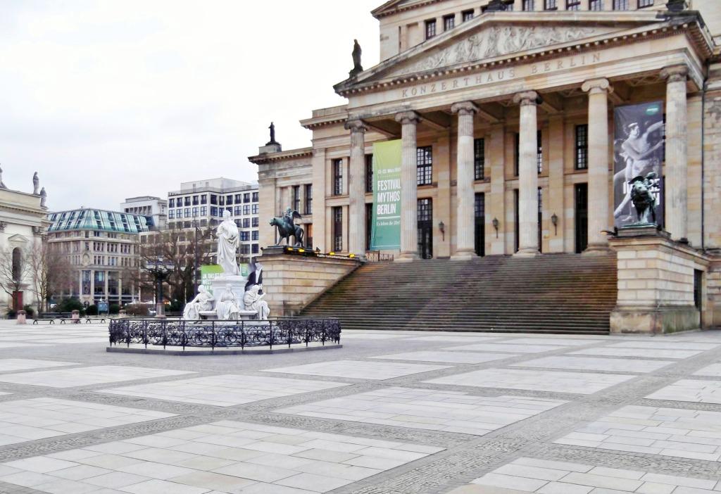The former theatre, now concert hall Konzerthaus Berlin