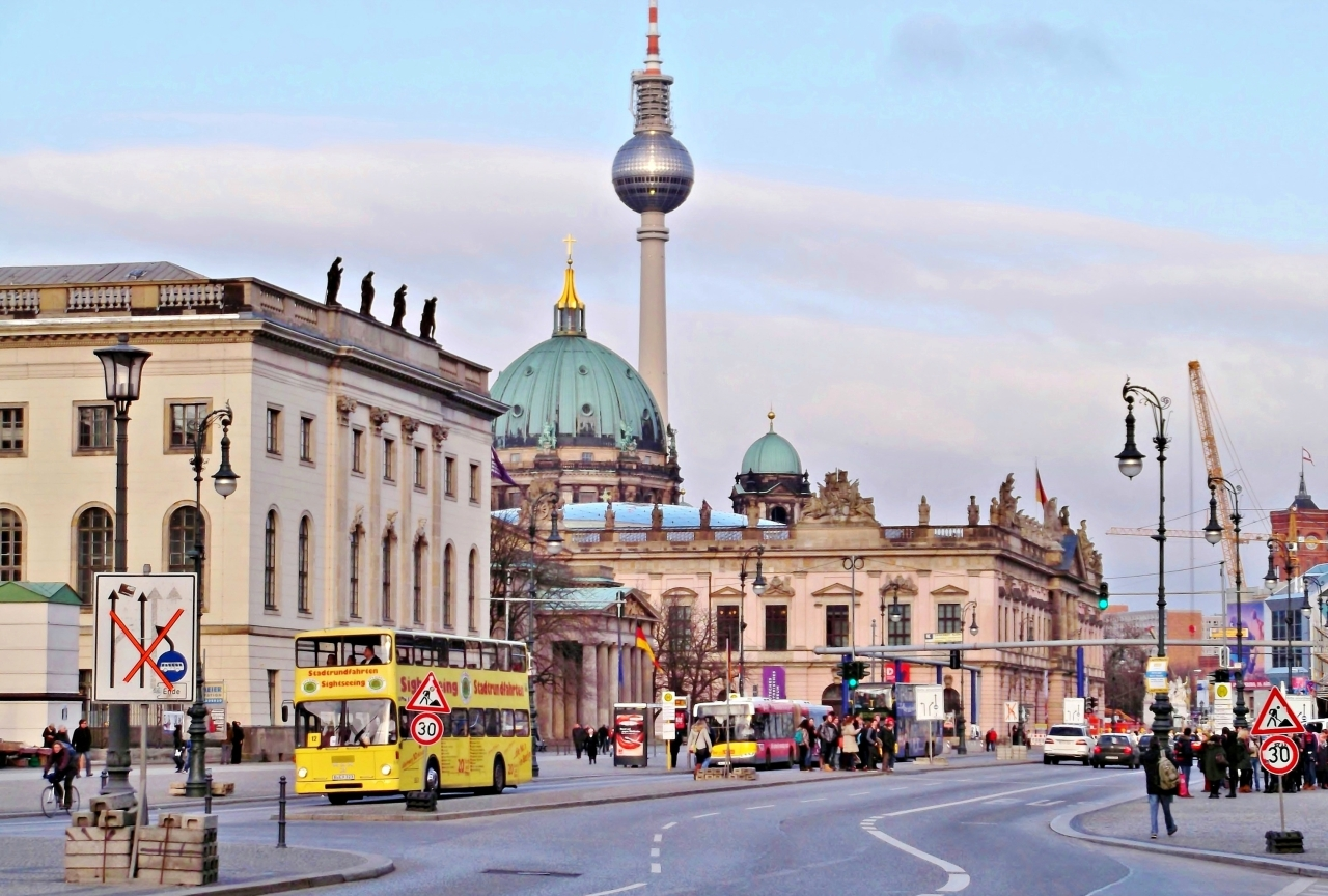 Five days in Berlin, Germany. Part 1: A cruise on the riverSpree.