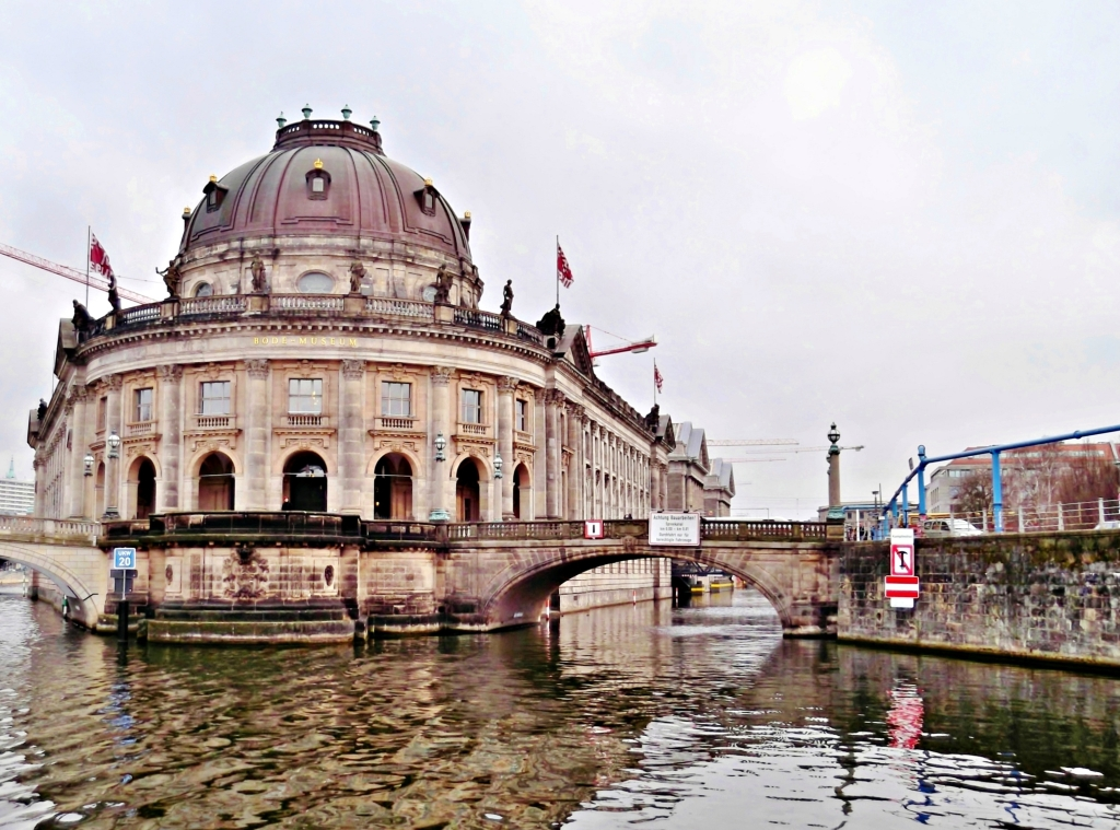 Museum Island: Bode Museum and Monbijou Bridge